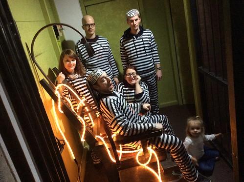 Die Kellerkinder und Schokoküsse bei der Room Escape Challenge