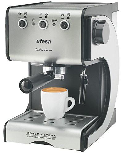 Ufesa CE7141 máquina de café 1050W por tan solo 69,99 €