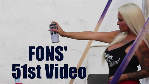 FONS LiON - A Los Angeles Graffiti Video by FONCE UFK