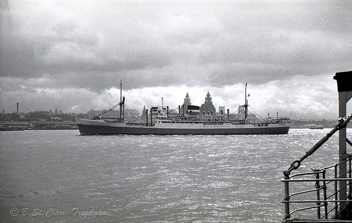The City of Johannesburg in the River Mersey