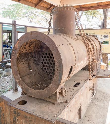 Remains of the Don Det—Don Khone railway, Champasak, Laos