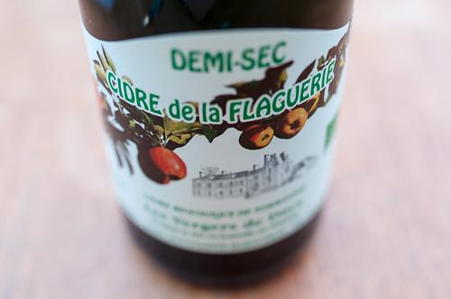 Tasting_forum 76: Bio-Cider, Mostothek, Wien, Cidre de la Flaguerie Demi-sec, SCEA Domaine de Flaguerie