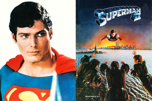 Superman II (1981 / Warner Bros.) front & back covers