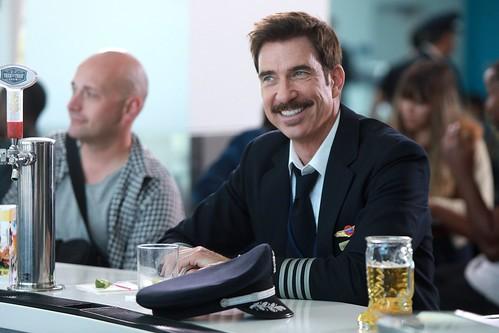 Dylan McDermott flies the zany skies in Fox's 'LA to Vegas'