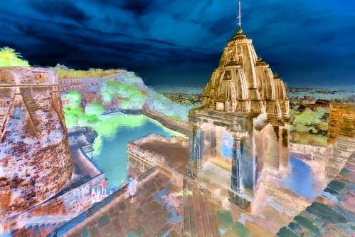 India - Rajasthan - Chittorgarh Fort - Water Tank - 201bb