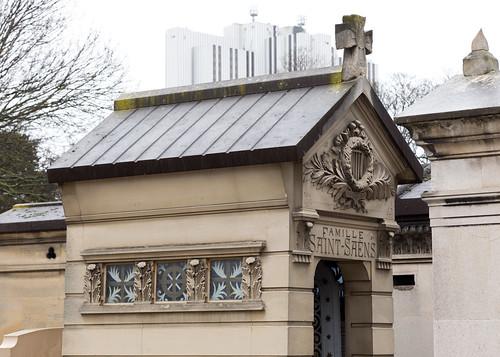 Grave of Camille Saint-Saëns and family | Montparnasse Cemetery | Cimitière du Montparnasse-21