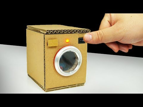 DIY Videos : DIY How to make Washing Machine from Cardboardhttps://diypick.com/videos-diy/diy-videos-diy-how-to-make-washing-machine-from-cardboard/