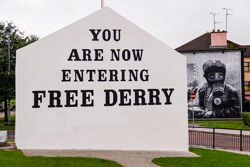 UK - Norhern Ireland - Londonderry - Bogside