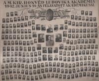 A Magyar Királyi Honvéd Ludovika Akadémia 1942. június 18-án felavatott akadémikusai