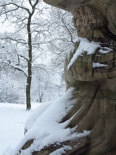 Monument à Ludwig van Beethoven, bois de Vincennes début des années 1910 (inachevé) par José de Charmoy