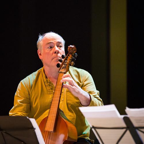 Hathor Consort (viola da gambaconsort) & Uday Bhawalkar (zang): 'Dhrupad Fantasia'@handelsbeurs