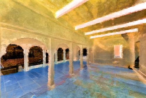 India - Rajasthan - Chittorgarh - Ratan Singh Palace - 7bb