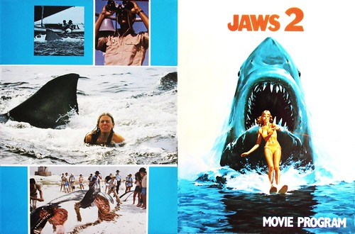 Jaws 2 #2 (1978 / Universal) front & back covers