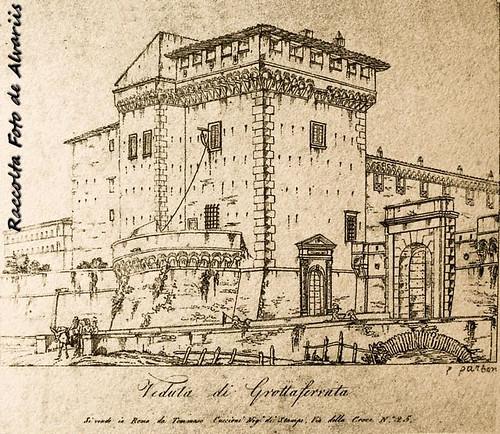 1800 2017 Veduta di parte della fortificazione roveriana, di Pietro Parboni