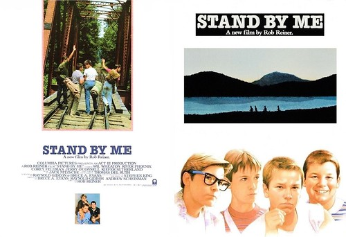 Stand By Me (1986 / Columbia) front & back covers