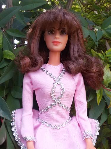 Barbie Yola Polastry muñeca hecha por honorar la Polastry Perù De Basa