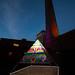 Gummy Bear Pyramid @ Toronto Light Festival