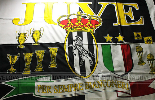 Juventus 1997 Supporters Flag