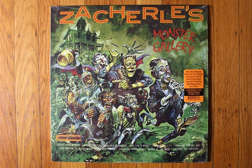 Zacherle's Monster Gallery Record ( Re-issue 2017 )