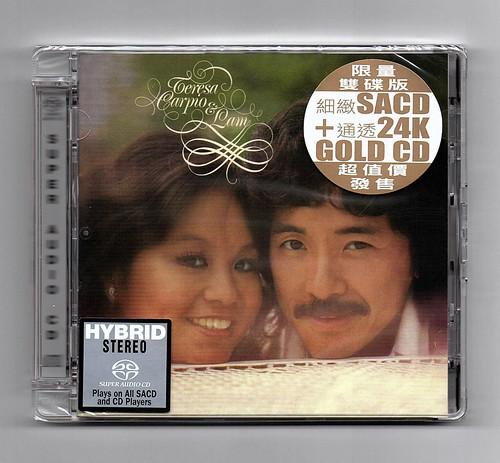 林子祥 杜麗莎 - Teresa Carpio & Lam (SACD + 24K Gold CD)