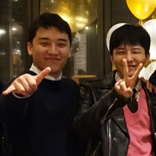 [Social Media] Andrew Oh (eskimo7474) Instagram 2018-02-22: May God Bless you Jiyong....Always remember to smile like you smiled at your Farewell gathering..... ...