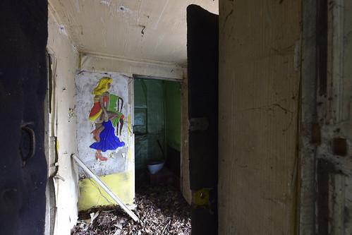 in einer Striptease-Kaserne, Sowjetarmee / казарма с стриптизом, ГСВГ / soviet striptease barracks