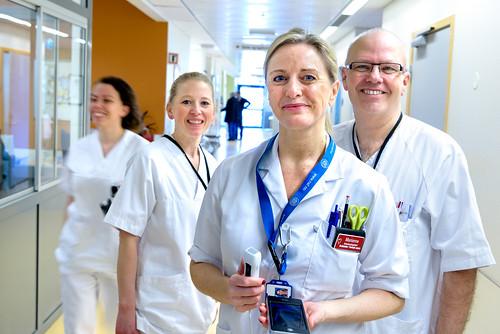 Ekko-prosjektet: Ultralydopplæring til sykepleiere. Foto: Svein Lunde, Helse Stavanger