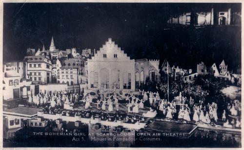 Scarborough - Open Air Theatre Prior to 1939