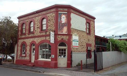 Gawler. Old 19th century general store and residence from the 1860s still in use.