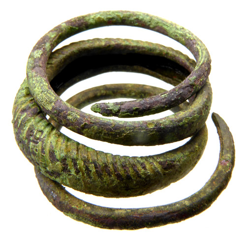 Iron Age Spiral Finger Ring