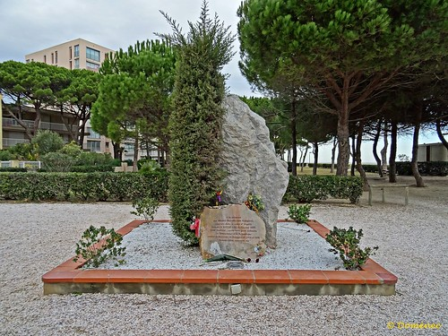 Monument to the Spanish political exiles / Argeles sur Mer
