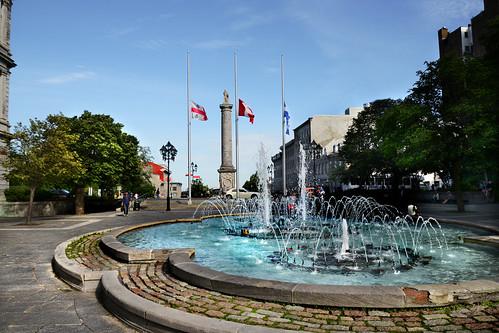 Fuente en Montréal