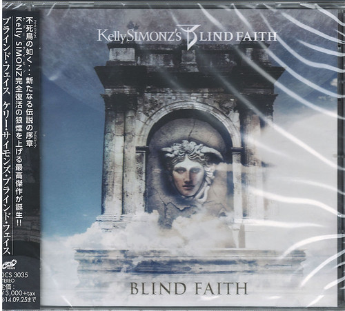 KELLY SIMONZ'S BLIND FAITH-BLIND FAITH-JAPAN CD BONUS TRACK G88