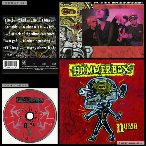 #HappyAnniversary 25 years #Hammerbox #Numb #album #grunge #alternative #rock #music #90s #90smusic #90sgrunge #90srock #90saltrock #90salternative #backtothe90s #CarrieAkre #JamesAtkins #DaveBosch #HarrisThurmond #MichaelBeinhorn #Seattle #Washington #90