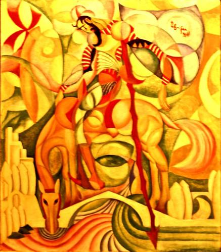 (D. Quixote) (1914) - Amadeo de Souza-Cardoso (1887 - 1918)