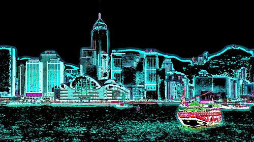 Hong Kong - Skyline - 103ee