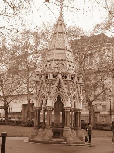 Buxton Memorial Fountain, Samuel Sanders Teulon (Architect), Victoria Tower Gardens, Millbank, London