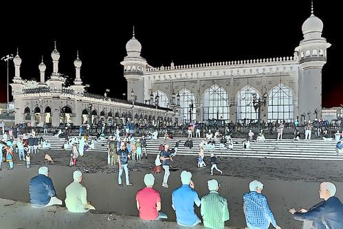 India - Telangana - Hyderabad - Mecca Masjid - 4ff