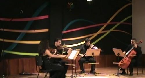 imagem. Quarteto de Cordas Interlúdio, VISITA Musical 2009 I