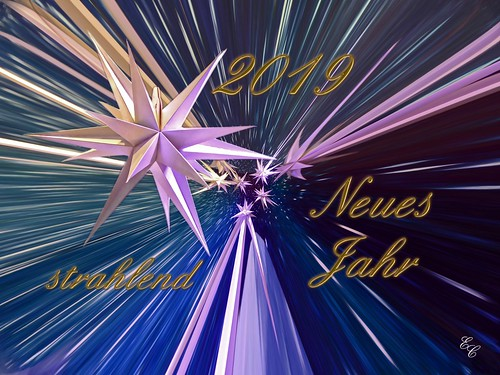 Neujahrsgruß / New Year Greeting 2019