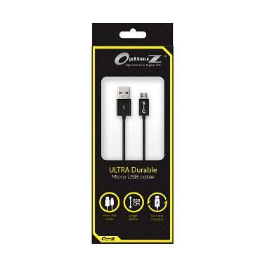 MURAH Optimuz Micro USB Kabel Data - Hitam [2 m]