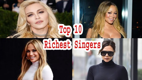 Top 10 Richest Singers in The World 2019
