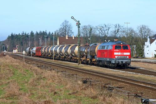 217 020-7 in Tüßling