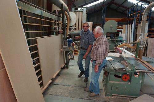 Paul van de Watering,  houtbewerking