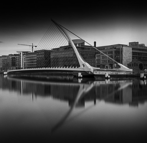 Samuel Beckett Bridge Open