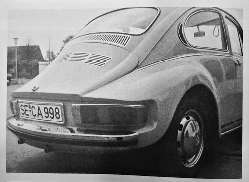 1970s VOLKSWAGEN Beetle Prototype