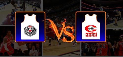KK Partizan-KK Cedevita Dec 22 2018