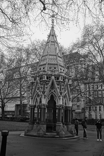 Buxton Memorial Fountain, Samuel Sanders Teulon (Architect), Victoria Tower Gardens, SW1, Millbank, City of Westminster, London