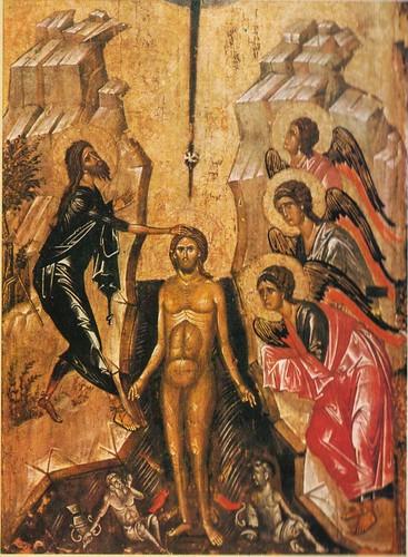 Epiphany - baptism icon