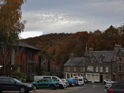 Dunkeld and Birnam, Perthshire, Scotland - October 2018
